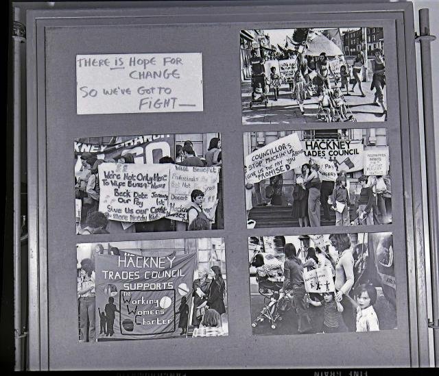 Panel from 'Women and Work' 1975 ©Hackney Flashers