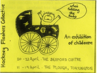 Beaford leaflet, Archive material ©Hackney Flashers