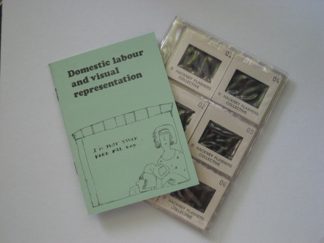Domestic labour and visual representation slide pack ©Hackney Flashers