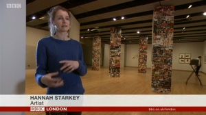 Hannah Starkey BBC London News Hayward 2